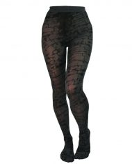 L-L-B brick printed tights
